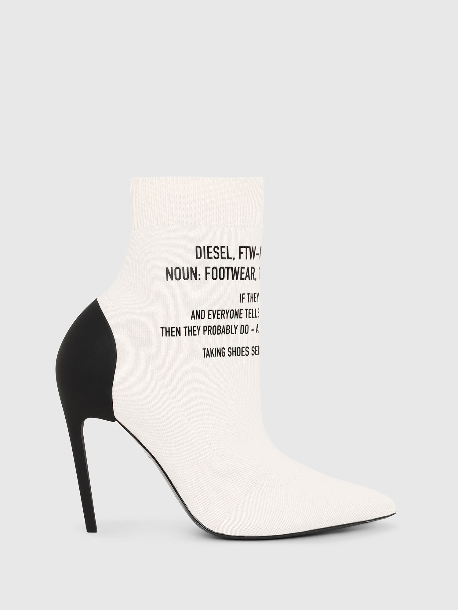 Diesel Ankle Boots P2507 - White - 36